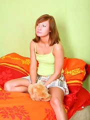 Hot teen girl inhales her boyfriends cock
