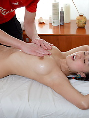 Professional masssage for the real russian beauty