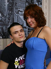 Nasty is a horny Russian redhead and she just loves when a guy fucks her hard