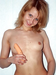 Teen chick getting an orgasm from a plastic penis