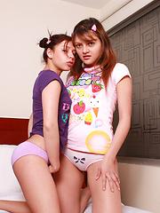 Latin teen girl pussy eating