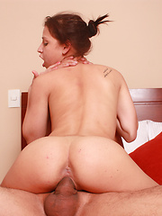 Cock hungry latin chick have doggy style sex