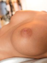 Sexy Nubile Eva Lovia fucks her twat with a dildo