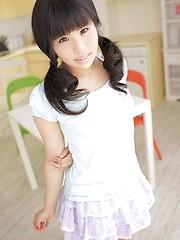 Nice asian girl from Tokyo Nagisa Kano