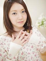 Yua Hagiwara showing her tiny asian tits