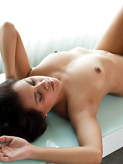 Horny Selma Sins fucks her twat with a sex toy
