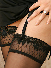 Garter belts, stockings and lace...Oh My!