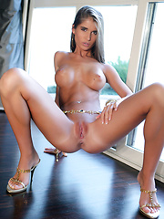 Nessa is so hot, with her super puffy nipples and smooth pussy that just drive you crazy.