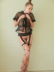 Fresh, adorable and petite with the effortless ability to seduce and arouse.