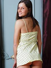 Irina O posing at home