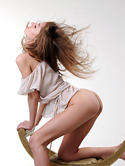 Newcomer Yani with angelic face and youthful charms.