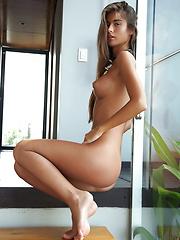 Nessa is tall sensual slice of heaven in a sweet cake like naked girl beauty.