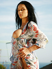 Fan favorite Jenya has large wet breasts and nipples you just want to taste.