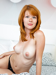 Adorable newcomer with exquisitely natural beauty and perfectly shaped body.