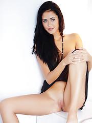 Wonderful brunette Macy B