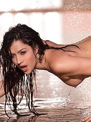 Cassie Laine - gets wet and wild