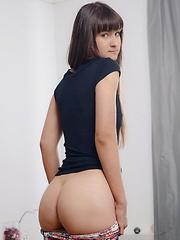 Russian cutie first anal sex