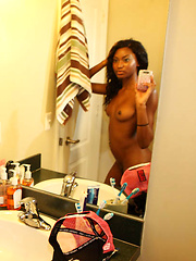 Super hot hard ass black gf teen fucked after masterbating in the mirror hot gf teen sex