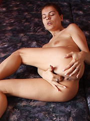 Yasmin touches her pussy