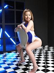 Japanese girl Kana Endo sucking a cocks