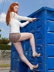 Karla Meyers Orange Stack
