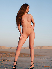 Posing as a nude model give opportunity to show the world what nature has done magnificently. Fresh female body in wild.