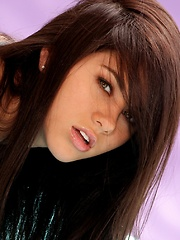 Shyla Jennings - is a young brunette with a babydoll face