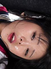 Kawagoe Yui  fucked hard in the mouth