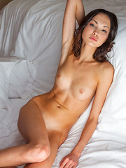 Wonderful combination of bewitching expressions from a classic beauty, a perfectly toned body, and subtly erotic poses that showcases Xola's natural allure and elegant eroticism