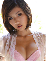 Noriko Kijima Asian is such appetizing doll with generous boobs