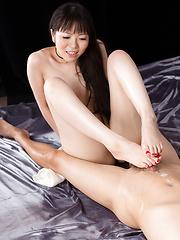 Japanese brunette Miyazaki Yuma