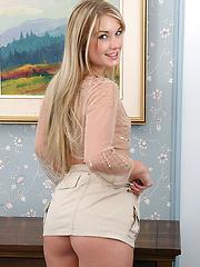 18 year old beauty strips on hotel desk