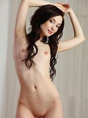 Halena A flaunts her slender body