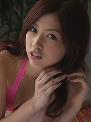 Azusa Togashi Asian has lovely smile, juicy bum and generous cans