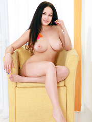 Posing for her first series, Marisa Nicole wows us in her debut with her gorgeous body blessed with beautiful large breasts with enticingly puffy nipples, sensual hips and thighs, pretty feet, and smooth, meaty butt.