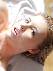 Lexi toys her clit while being fucked