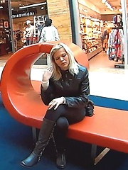 Hot teens picked up at the mall and fucked hard