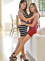 Megan and Sophia Dressed For More