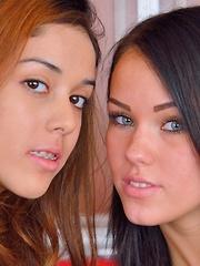 Megan and Sophia Mutual Exploration