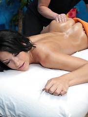 Hot and sexy 18 year old Kelly gets fucked hard by her massage therapist