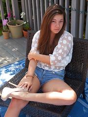 Nikki Yann On The BBQ
