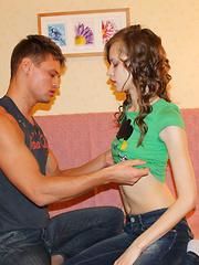 Examine these amazingly hot casual teen sex photos
