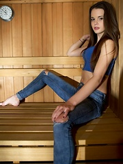 Sauna Of Hot Young Desires
